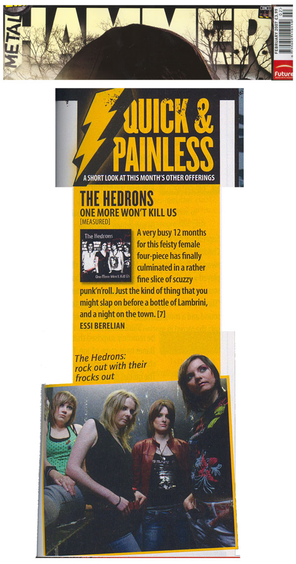 TheHedrons Metal Hammer Feb 2007
