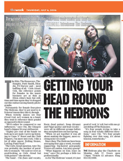 TheHedrons LeicesterMerc 06Jul2006