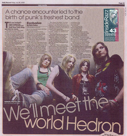 Hedrons Daily Record Razz 28 July 2006