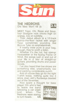 TheHedrons SunReview 02Feb2007