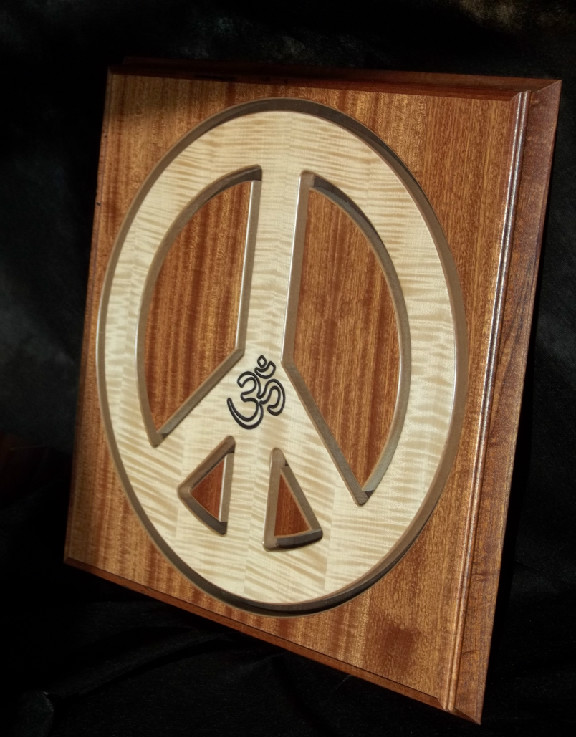 peace sign cabinet