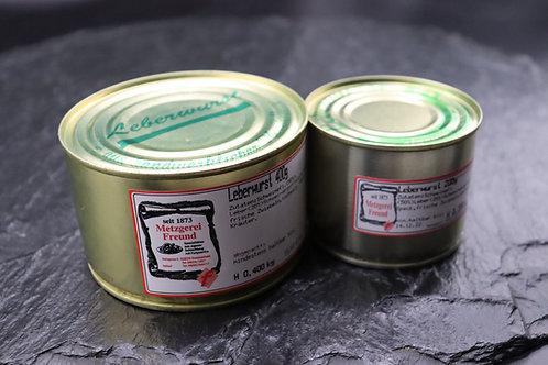 Leberwurst  - 400g Dose
