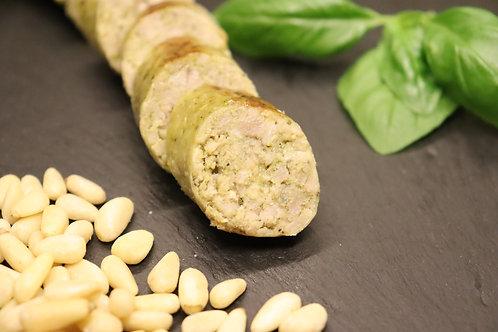 Pesto Bratwurst