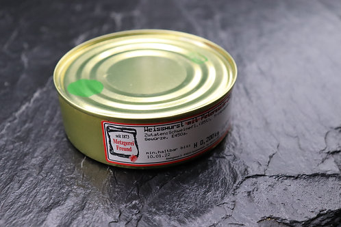 Weiße Fleischwurst mit Petersilie - 200g Dose