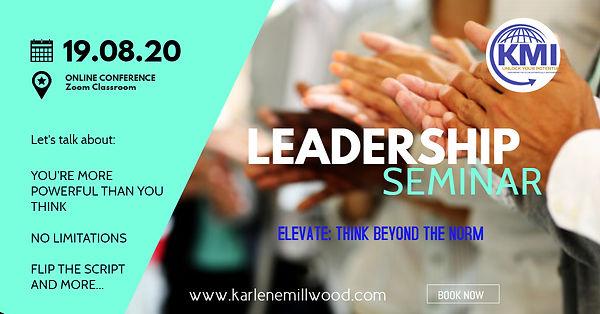 Leadership Mindset Seminar - Made with P