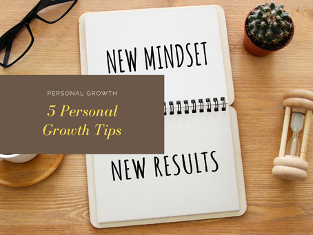 Top 5 Personal Growth Tips