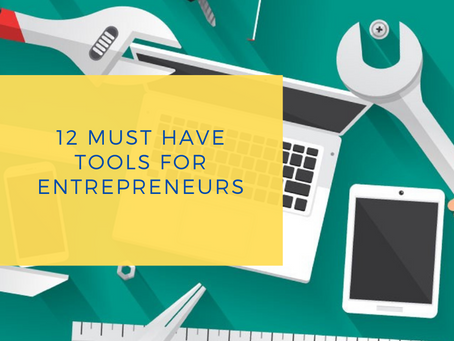 12 Tools For The Busy Entrepreneur
