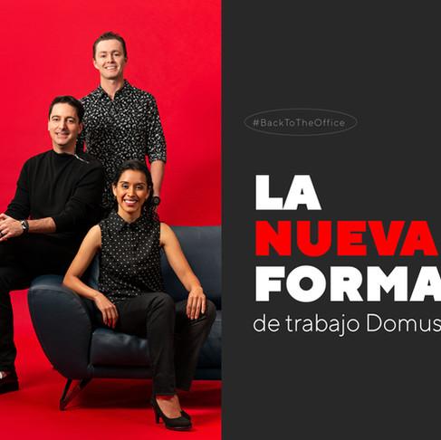 NUEVAS FORMAS DE TRABAJO EN STUDIO DOMUS