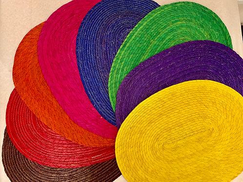 Handmade woven palma placemats