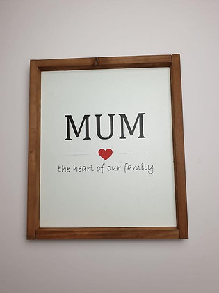 Mothers Day Rustic Framed Signs