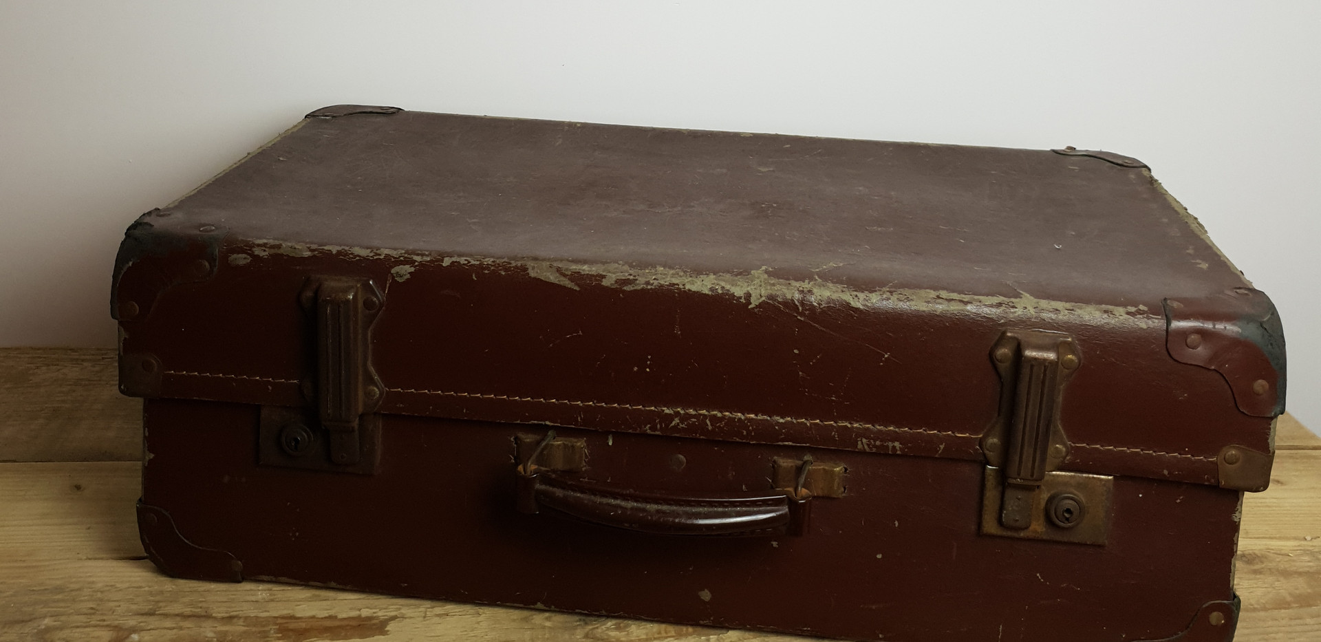 Medium Size Vintage Suitcase