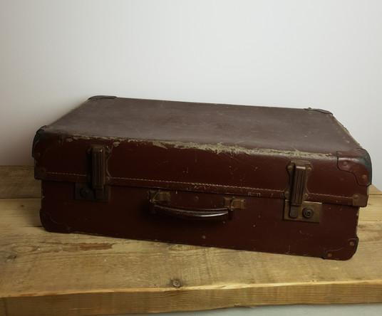 Medium Size Vintage Suitcase