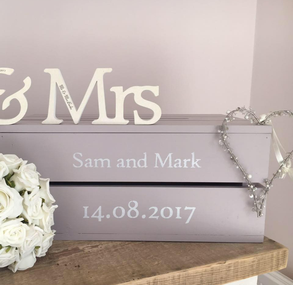 Wedding Crate - Painted Finish