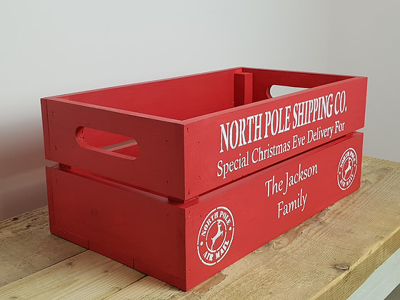 Christmas Boxes and Crates