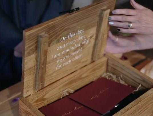 Reclaimed Wood Ceremony Box Video