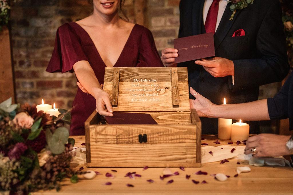 Reclaimed Wood Ceremony Box