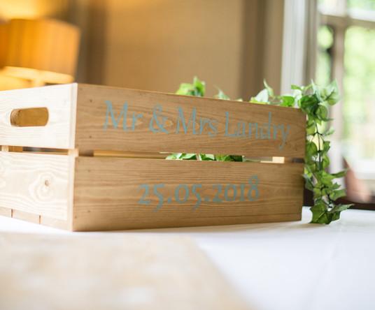 Wedding Crate - Waxed Finish