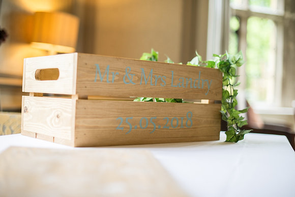Handmade Personalised Crates