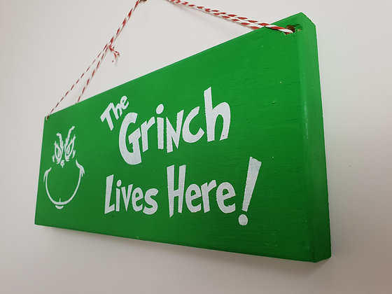 Grinch Sign