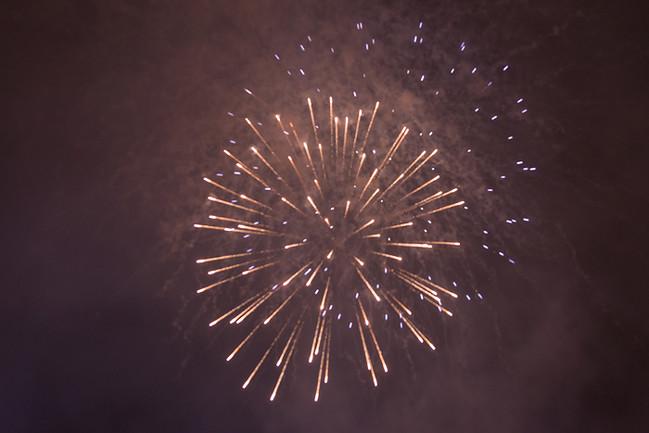 Santa Claus Village - Feuerwerk am Silvester