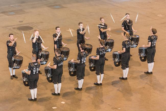 Top Secret Drum Corps - Einzelne Teile werden noch einmal perfektioniert