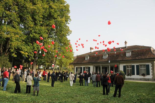 Das Ballonwettfliegen (Foto: Regula Kormann)