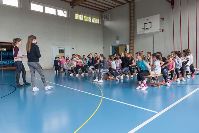 Majoretten Münsingen - Trainingsweekend Frühling 2019