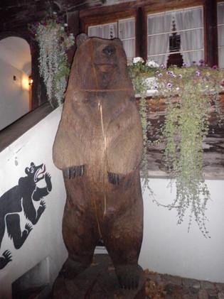 Das Abendessen im Restaurant Bären in Münsingen