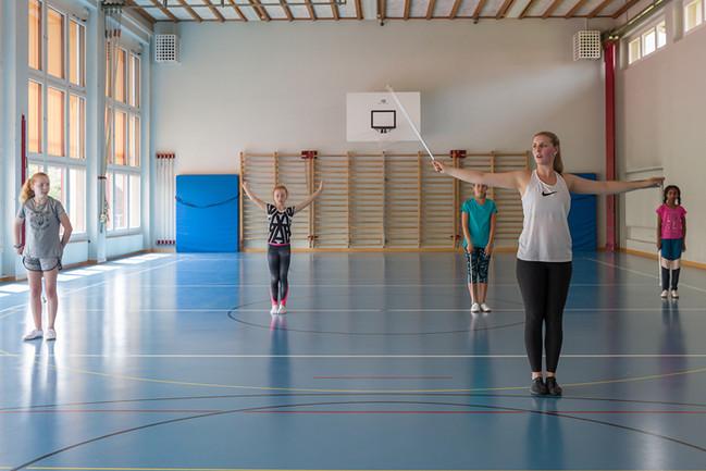 Majoretten Münsingen - Trainingsweekend Frühling 2018