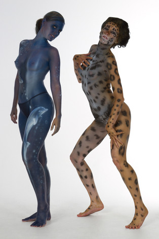 Model: Corinne, Nadine / Bodypainting: Stephan Beutler