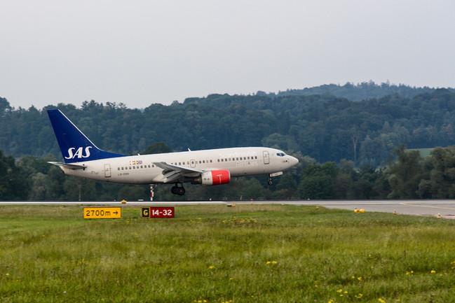 Airport Zürich - Landung