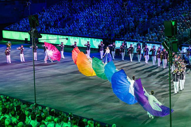 The Republic of Korea Air Force Band - Farbenprächtige Show