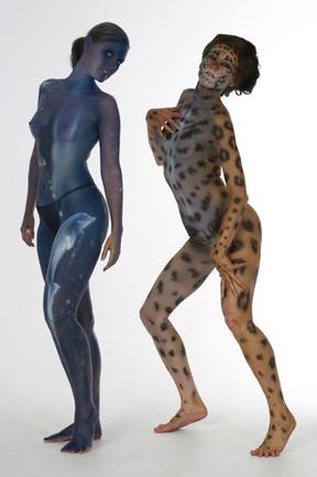 Model: Nadine, Corinne / Bodypainting: Stephan Beutler