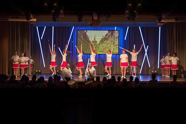 Majoretten Muensingen - Show 2018