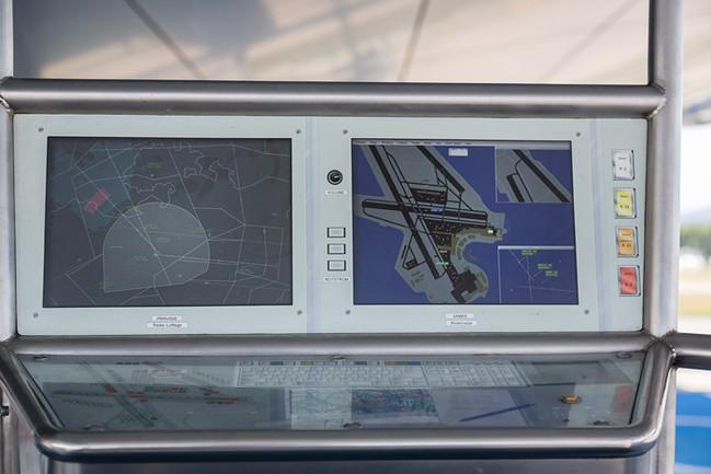 Kontrolle auf dem Radar