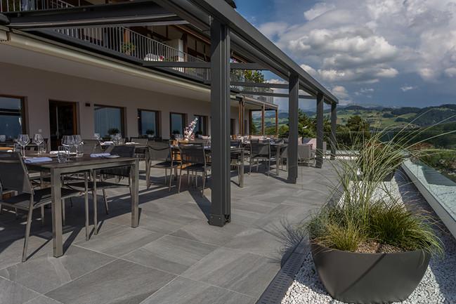 W. Stauufer AG - Terrasse Restaurant Panorama, Steffisburg