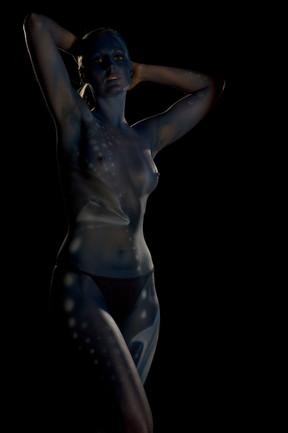 Model: Corinne / Bodypainting: Stephan Beutler