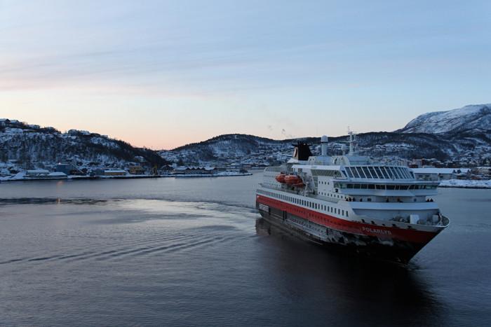 MS Polarys in Harstad