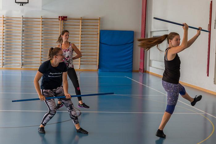 Majoretten Münsingen - Trainingsweekend Sommer 2018