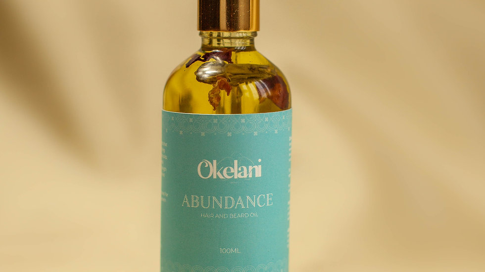 Abundance Hair and Beard Oil
