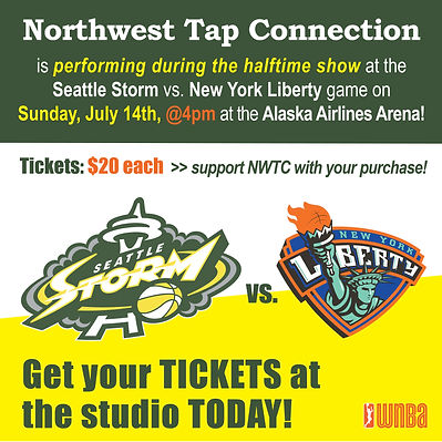 Seattle Storm Game_NWTC Half-time Ticket