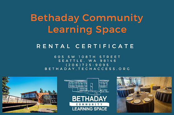 Bethaday Community Leaning Space Rental
