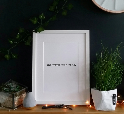 Go with the flow - Print