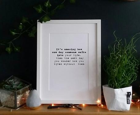 It's amazing how... - Print