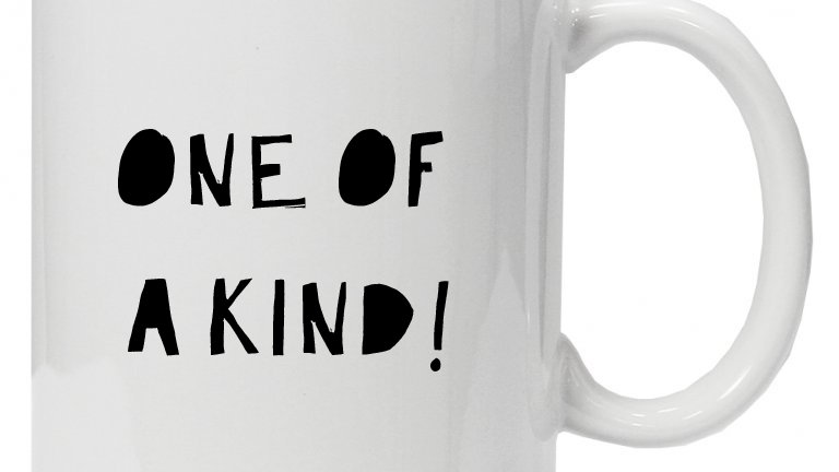 One of a kind - Mug