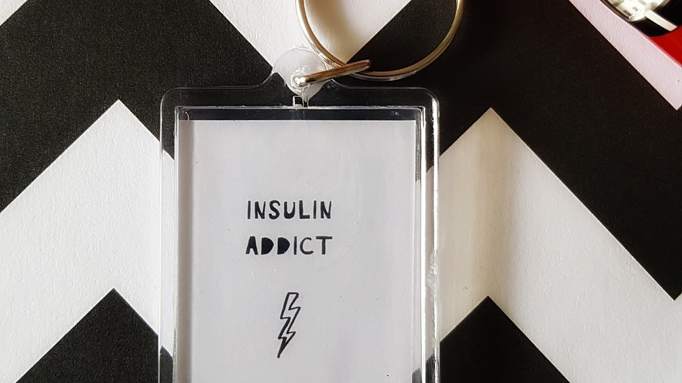 Insulin Addict - Keyring