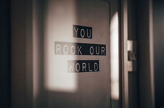 You rock our world