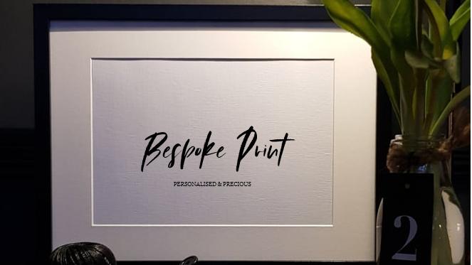 "Bespoke ""Keepsake Frame and Card Gift Set"""