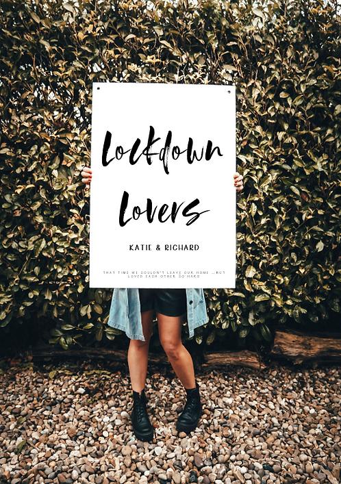 Lockdown Lovers  - Print