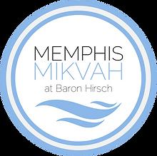 Memphis Mikvah at Baron Hirsch Logo.png